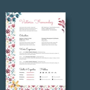 Creative Artist Resume Template